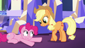 Applejack tells Pinkie to calm down S5E3.png