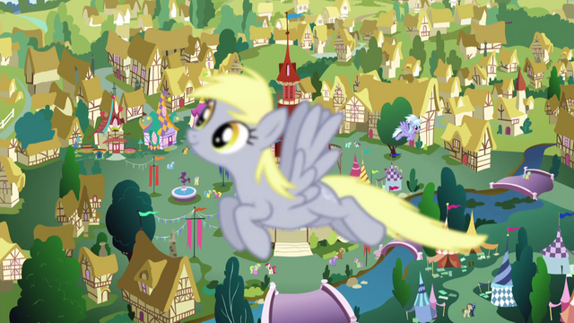 File:Derpy flying past the camera EG2.png