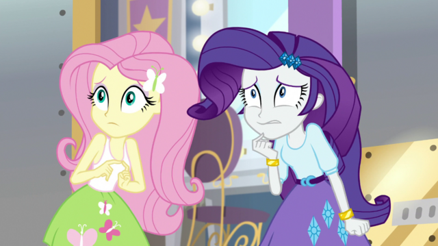 File:Fluttershy and Rarity scared of Chestnut Magnifico EGS2.png