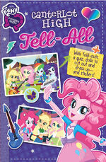 MLPEG Canterlot High Tell-All replica journal cover