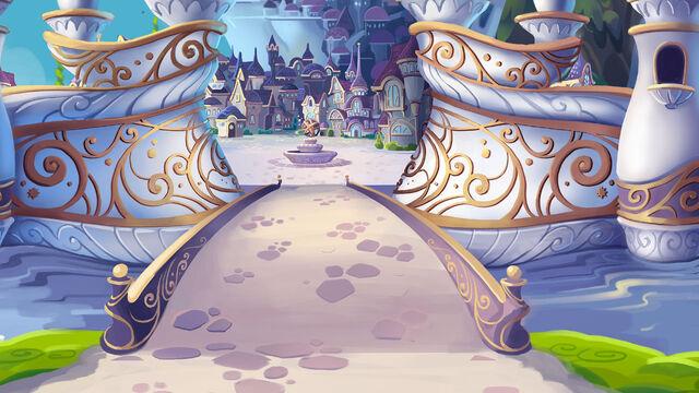 File:MLP The Movie background art - Canterlot entrance.jpg
