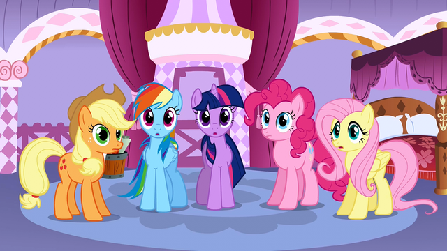File:5 main ponies speechless S01E14.png