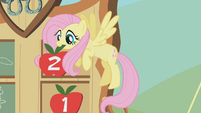 Fluttershy after the bronco buck S01E13