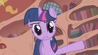 "Twilight ""barely made a dent in the clutter"" S1E10"