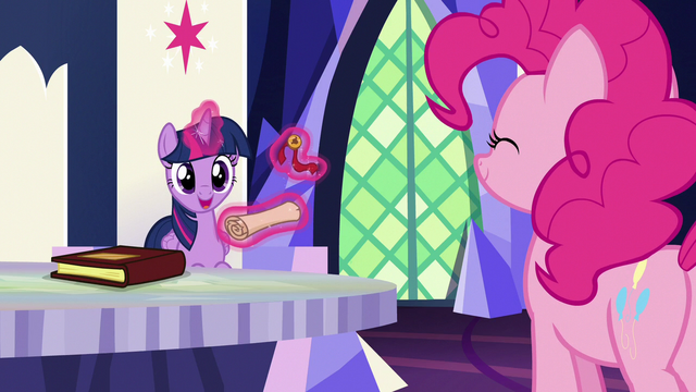 "File:Twilight Sparkle ""it's from the yaks!"" S7E11.png"