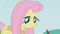 Fluttershy calmly looking at snakes S1E11.png