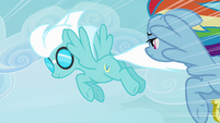 Fleetfoot flying no suit S4E10