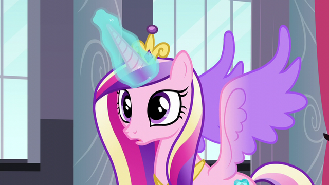 File:Princess Cadance using her magic S5E10.png