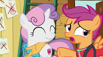 "Scootaloo ""don't have to do everything together"" S6E4"