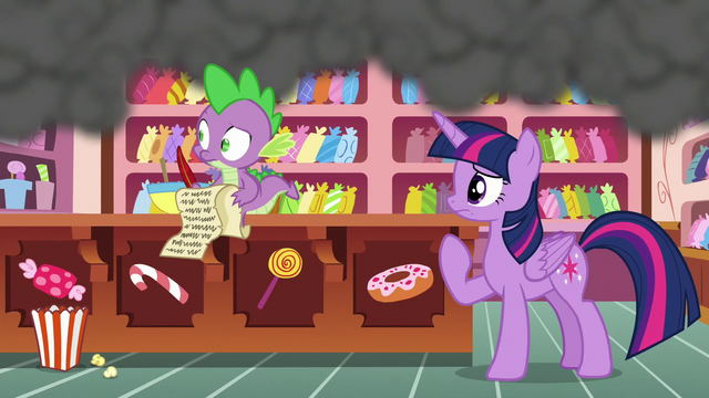 File:Twilight and Spike see Pinkie speed off S6E22.png