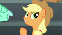 "Applejack ""except maybe cotton candy"" S6E7"