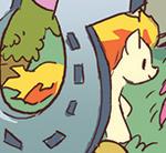 Comic issue M7 Ponyta