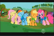 FANMADE Slenderpony potentially watching the Mane 6