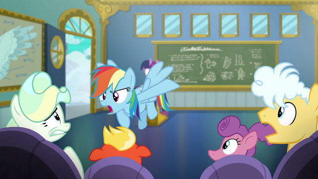 """File:Rainbow Dash """"'T-Sparks' and 'The Dashinator'!"""" S6E24.png"""