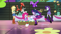 Twilight and friends surrounded by animals EG2