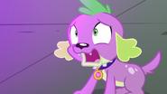 Puppy Spike gasping horrified EG3