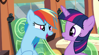 Rainbow 'I know that I can pick up' S4E10