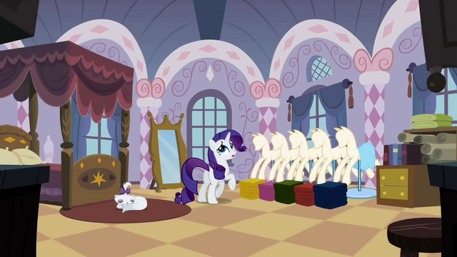 """File:Rarity """"Thanks to Sweetie Belle"""" S2E05.png"""
