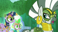 "Zecora ""will soon draw near!"" S5E26"