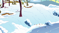 Final shot of Ponyville in winter S5E5.png