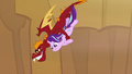 Garble dives over cliff edge with Starlight S7E1.png