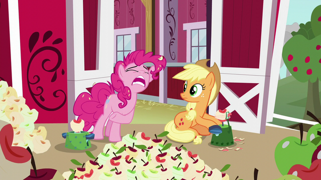 "File:Pinkie Pie ""more peelin'!"" S5E24.png"