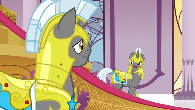 """File:Royal guard """"are we supposed to say something?"""" S7E1.png"""