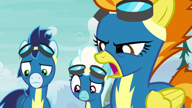 "File:Spitfire ""way to go, Rainbow Crash"" S6E7.png"