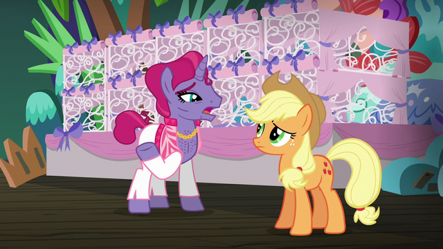 """File:Trainer 2 """"we used to perform all over Equestria"""" S6E20.png"""