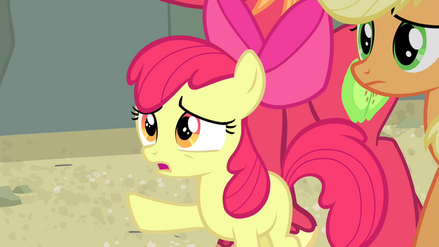 "File:Apple Bloom ""and what about your hip?"" S4E20.png"