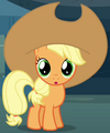 Apple Bloom as young Applejack S3E5.png