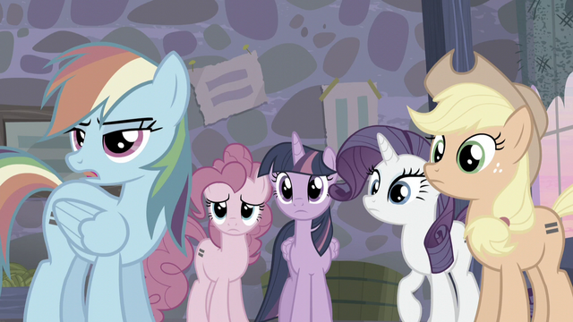 """File:Rainbow """"This guy's a barrel of laughs"""" S5E02.png"""