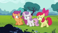"Scootaloo ""laugh at us once"" S4E15"