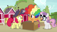 "Scootaloo ""we thought they'd come in handy"" S7E8"