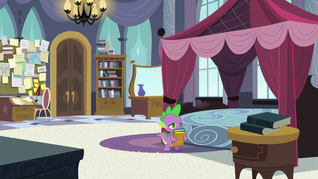 File:Spike putting books away S5E10.png