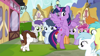 Twilight takes off flying S4E15