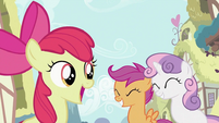 Apple Bloom telling lesson S2E06