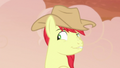 Bright Mac smirking coyly at Pear Butter S7E13.png