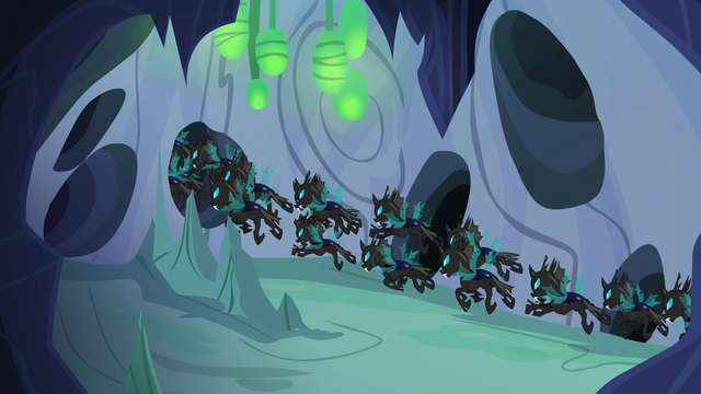 File:Changeling swarm flying down center tunnel S6E26.png