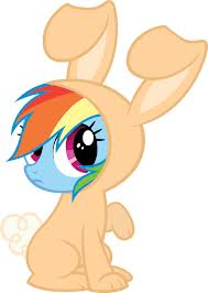 File:FANMADE Rainbow Dash in a bunny costume.jpg