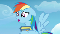 "Rainbow Dash ""can I tell you something?"" S7E7"