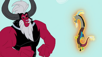 Tirek levitating Discord S4E26