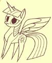 Twilight Sparkle living drawing ID S5E12