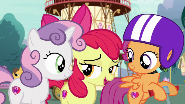 """File:Apple Bloom """"we've had a pretty good effect on everypony"""" S6E19.png"""