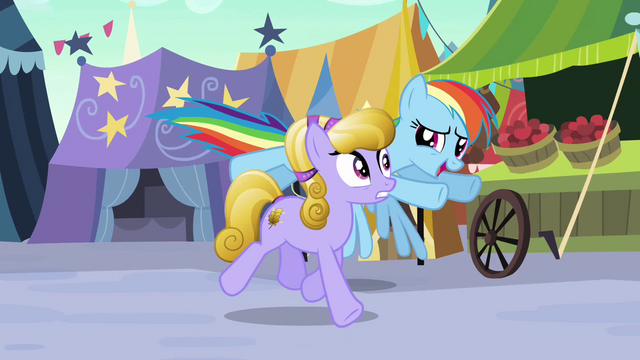 File:Rainbow Dash follows Amber Waves S3E01.png