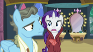 "Rarity ""of framing Rainbow Dash as you are"" S5E15"