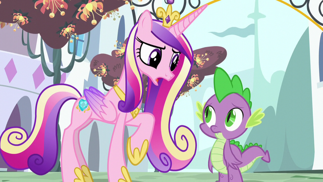 """File:Cadance """"you're not enjoying speaking for Twilight"""" S5E10.png"""