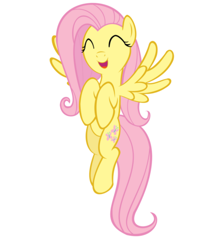 File:FANMADE Fluttershy Flying.png