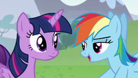 """Rainbow """"I'll bet they'll be just as"""" S5E22"""