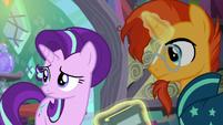 Starlight and Sunburst hears Spike S6E2